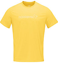 Norrona Norrøna tech - T-Shirt - Herren, Yellow