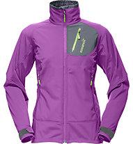 Norrona Svalbard flex 2 giacca Softshell donna (2012/13), Purple Rain