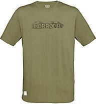 Norrona Svalbard Wool - Herren-T-Shirt, Green