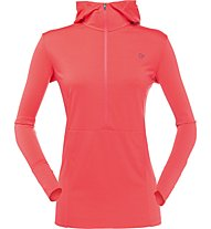 Norrona Wool Hoodie - Funktionsshirt Langarm - Damen, Red