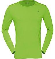 Norrona Wool - Maglia a maniche lunghe scialpinismo - uomo, Green