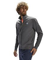 North Sails Full Zip W/Logo - sweatshirt - uomo, Grey