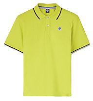 North Sails North Legacy P S/S W/Logo - Polo - Herren, Yellow