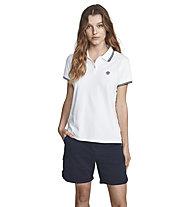 North Sails Polo S/S W/Logo - Poloshirt - Damen, White