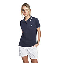 North Sails Polo S/S W/Logo - Poloshirt - Damen, Dark Blue