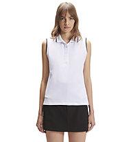North Sails Polo Without Sleeve W/Logo - Poloshirt - Damen, White