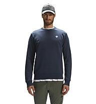 North Sails Round Neck W/Logo - Pullover - Herren, Blue