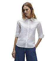 North Sails Shirt 3/4 Sleeve Point Collar - Bluse - Damen, White