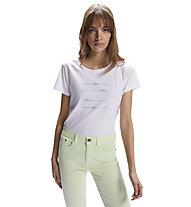 North Sails T S/S W/Graphic - T-Shirt - Damen, White