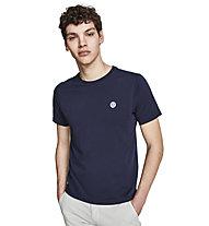North Sails T-Shirt S/S W/Logo - T-shirt - uomo, Dark Blue