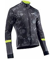 Northwave Blade - giacca bici - uomo, Black/Yellow
