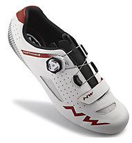 Northwave Core Plus - Rennradschuhe, White/Red