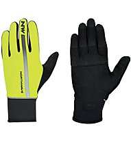 Northwave Dynamic Full Glove - Radhandschuh MTB, Black/Yellow