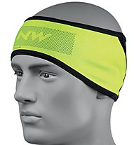 Northwave Dynamic Headband - Stirnband MTB, Black/Yellow