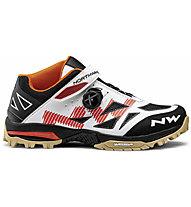 Northwave Enduro Mid - scarpe MTB - uomo, White/Orange