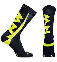 Northwave Extreme Winter High - calzini MTB - uomo, Black/Yellow