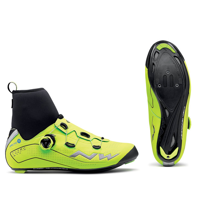Northwave Flash Artic Gtx - scarpe bici da corsa - uomo, Yellow