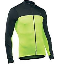 Northwave Force 2 - maglia bici a maniche lunghe - uomo, Black/Yellow