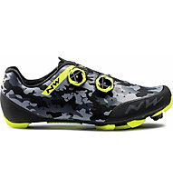 Northwave Rebel 2 - MTB Schuhe - Herren, Black/Grey/Yellow