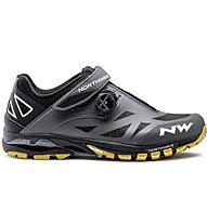 Northwave Spider Plus 2 - scarpe bici mtb - uomo, Grey/Black