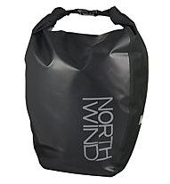Northwind Einzel-Gepäckträgertasche mit Fixierleiste - Radtasche, Black