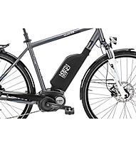 Northwind Neopren Protektor für E-Bike-Batterien, Black
