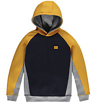 O'Neill Colourblock Hooded - felpa con cappuccio - bambino, Yellow/Black