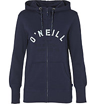 O'Neill Easy Fantastic - felpa con cappuccio - donna, Blue