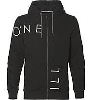 O'Neill Hoodie Logo Zip - felpa con cappuccio - uomo, Black