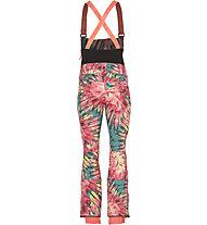 O'Neill Pant Shred Bib - Snowboardhose - Damen, Pink/Green