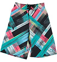 O'Neill PBT Lightning Check Shorts Junior, Black Aop