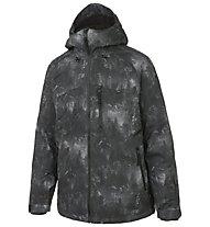 O'Neill Proton Snowboardjacke, Black AOP