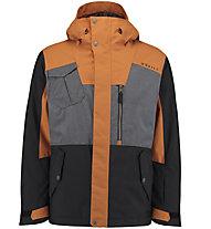 O'Neill Utility Hybrid - Snowboardjacke - Herren, Black/Brown