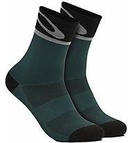 Oakley 3.0 - Radsocken, Green/Grey