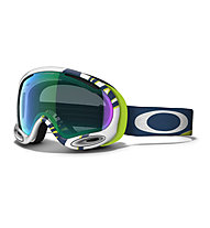 Oakley A Frame 2.0 (2015/16) - Skibrille, Smoke Rings Lime Blue