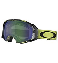 Oakley Airbrake, Topography Lime/Black