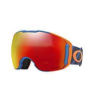 Oakley Airbrake XL - maschera sci, Orange/Blue