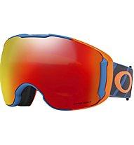 Oakley Airbrake XL - maschera sci - uomo, Orange/Blue