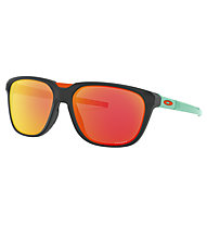 Oakley Anorak - occhiali sportivi, Matte Black/Turquoise