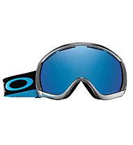 Oakley Canopy Aksel Lund Svindal - maschera sci, Black/Blue
