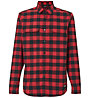 Oakley Checkered Ridge Long Sleeve - Hemd MTB - Herren , Red/Black
