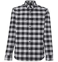 Oakley Checkered Ridge Long Sleeve - Hemd MTB - Herren , Grey/Black