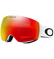 Oakley Flight Deck XM - maschera sci - donna, White