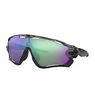 Oakley Jawbreaker Prizm - Fahrradbrille, Dark Grey/Black