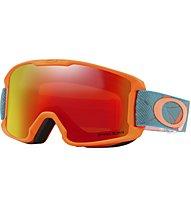 Oakley Line Miner - maschera sci - bambino, Orange/Blue