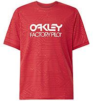 Oakley Pipeline Trail - T-shirt MTB - uomo , Red