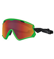 Oakley Wind Jacket 2.0 - Skibrille, Green