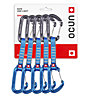Ocun Hawk QD Wire - set rinvii, Blue