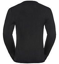 Odlo SUW Natural 100% Merino Warm - maglietta tecnica - uomo, Black