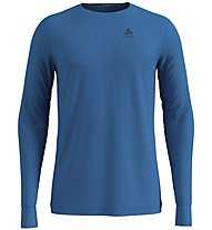 Odlo SUW Natural 100% Merino Warm - Funktionsshirt - Herren, Light Blue